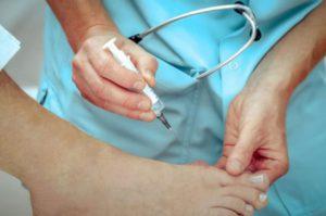 удаление косточки лазером