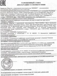 Декларация таможенного союза по стандартам ЕАС