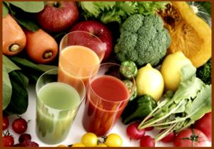в периоды обострения подагры в меню должны быть преимущественно овощи и фрукты