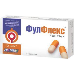Фулфлекс – растительный препарат от подагры