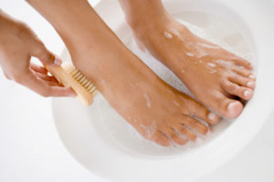 Содовая ванночка быстро избавляет от симптомов грибковой инфекции