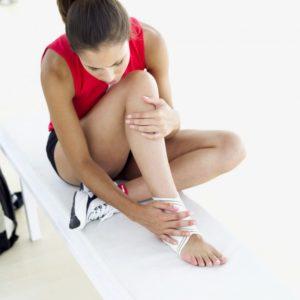 Боль в стопе на фоне травмы