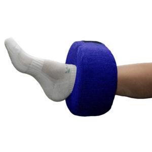 Нога в противопролежневом держателе