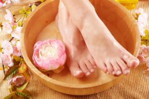 Гигиена ног – профилактика расслоения ногтей