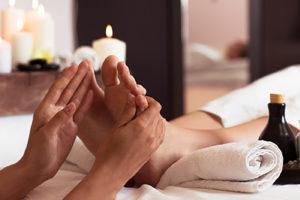 Оздоравливающий массаж подушечек стопы