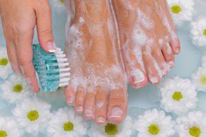 Гигиена ног – лучшая профилактика трещин