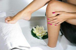 Ванночка для размягчения кожи стоп