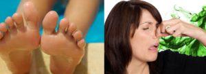 От чего пахнут ноги у женщин