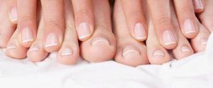 Здоровые ногти пальцев рук и ног