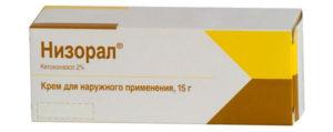 Упаковка крема Низорал
