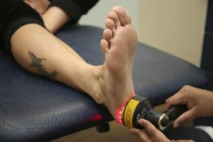 Физиотерапия с применением лазера