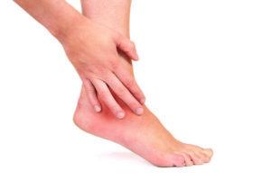 Артрит щиколотки, симптомы