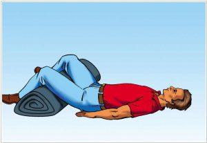 Первая помощь при переломе ноги
