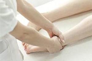 Процедуры массажа во время лечения