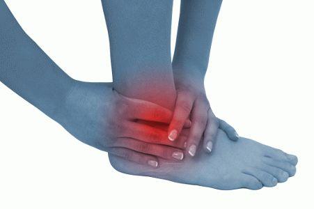 Боль в голеностопном суставе лечение народными средствами
