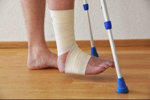 Солевые ванны для ног после перелома лодыжки
