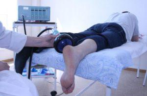 Электрофорез после перелома лодыжки
