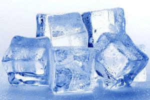Лед снимает воспаление