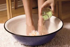 Солевые ванны в домашних условиях