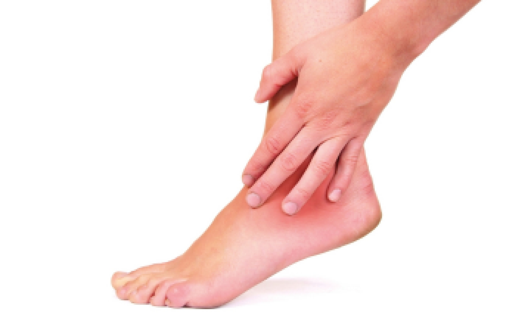 Болит косточка на голеностопе