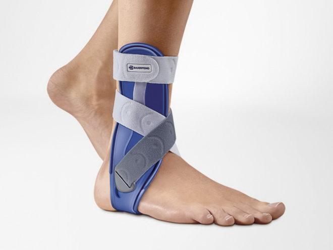 Альтернатива гипсу при переломе ноги