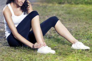 Механическая травма ноги
