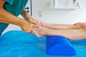 Физиотерапевтические процедуры для укрепления мышц ноги