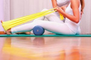 Лечебная гимнастика при реабилитации перелома лодыжки