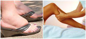 Лечение отеков ног народными средствами. Как снять отек ног в домашних условиях