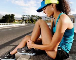 Острая боль в голеностопе после бега