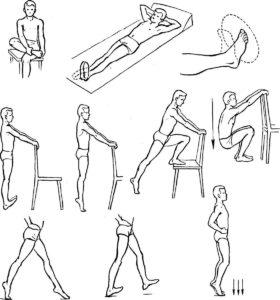 Гимнастика для голеностопного сустава упражнения ЛФК для голеностопа