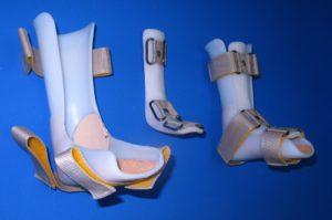 Наложение повязки на голеностопный сустав