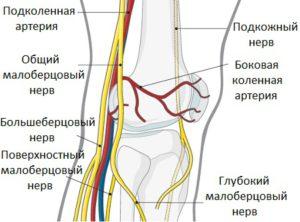 Защемление малого берцового нерва лечение