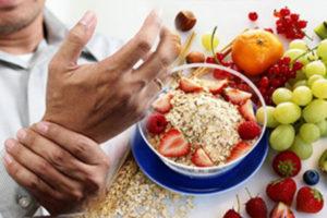 Полезные продукты при артрозе коленного сустава