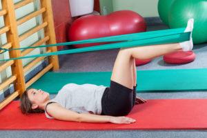 ЛФК для восстановления мышц
