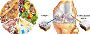 Полезные продукты при гонартрозе