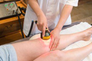 Прогревание колена