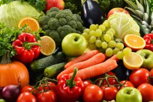 Употребление овощей и фруктов в качестве профилактики