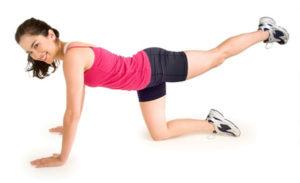 Упражнение ногами