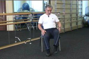 Ходьба сидя для лечения артроза