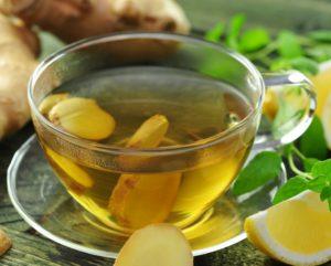 Чай с имбирем для снятия воспаления