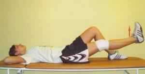 Лечебная физкультура для восстановления колена