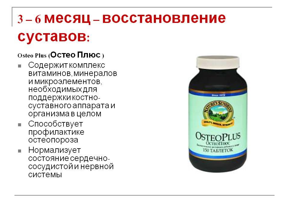 Витамины при болях в суставах реабилитация тазобедренный сустав