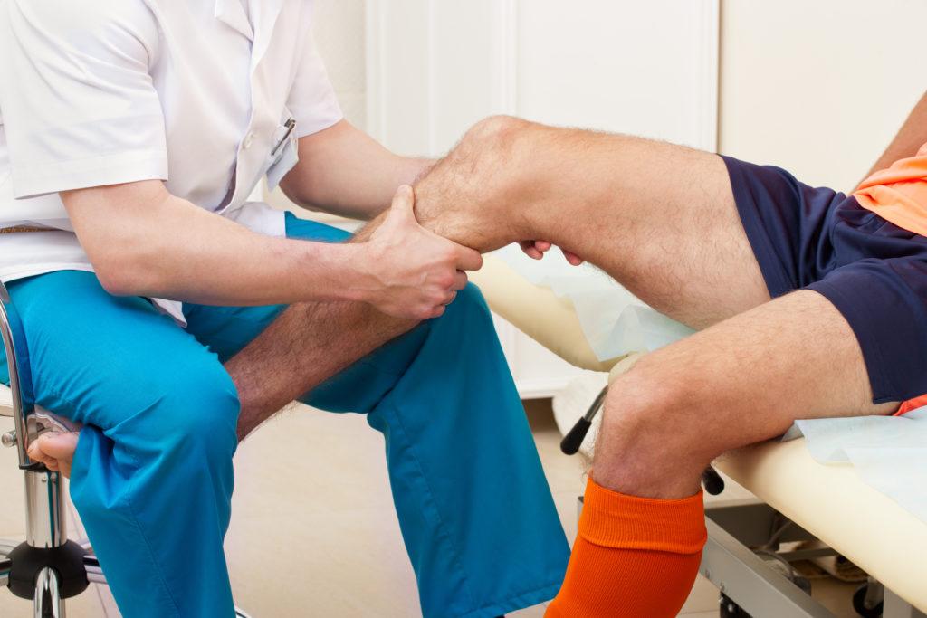 Компрессионный перелом коленного сустава