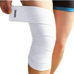 Виды повязок на коленный сустав и способы их наложения