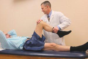 Перенапряжение капсульно связочного аппарата коленного сустава