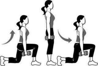 после поднятия тяжести болят колени