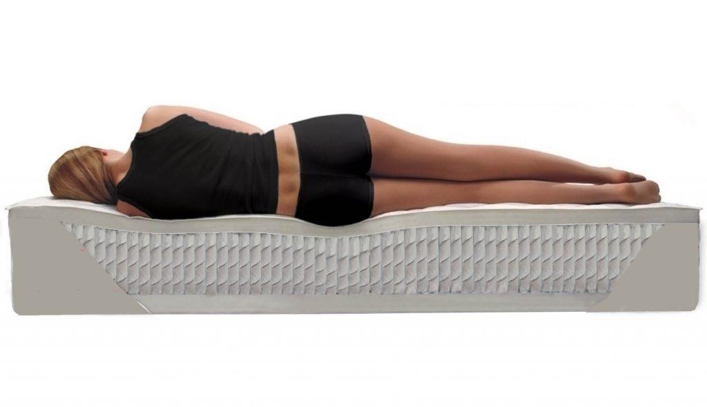 Ортопедический матрас на кровать от остеохондроза