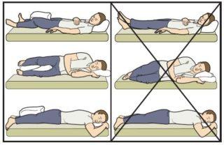 Когда можно лежать на боку после эндопротезирования тазобедренного сустава