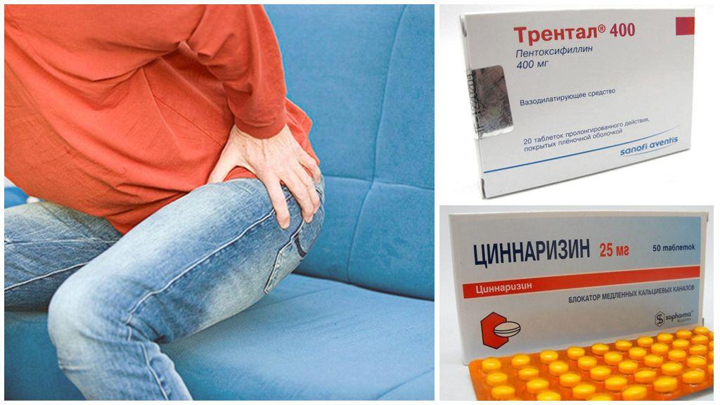 Обезболивающие препараты при болях в тазобедренном суставе